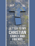 Letter to My Christian Family and Friends