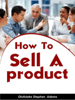 How To Sell A Product