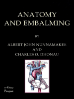 Anatomy and Embalming