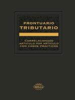 Prontuario Tributario 2016: Correlacionado Artículo por Artículo con Casos Prácticos. Profesional