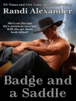 Badge and a Saddle