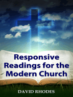 Responsive Readings for the Modern Church