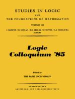Logic Colloquium '85