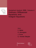 Ordinary Differential Equations and Integral Equations
