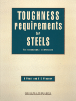 Toughness Requirements for Steels