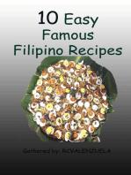 10 Easy Famous Filipino Recipes