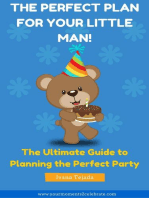 The Perfect Plan For Your Little Man!