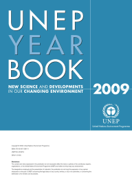 UNEP Yearbook 2009 New Science and Developments in our Changing Environment