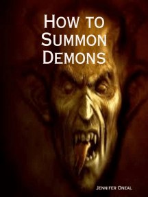 How to Summon Demons by Jennifer Oneal - Book - Read Online