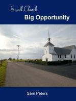 Small Church Big Opportunity
