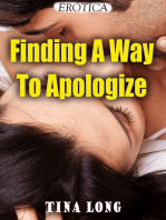 Finding a Way to Apologize (Erotica)