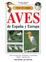 Guía de campo de aves de España y Europa