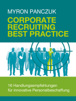 Corporate Recruiting Best Practice: 16 Handlungsempfehlungen für innovative Personalbeschaffung
