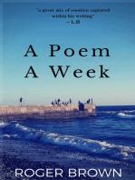 A Poem A Week