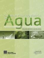 Calidad fisicoquímica del agua.