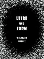 Leere und Form