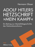 """Adolf Hitlers Hetzschrift """"Mein Kampf"""""""