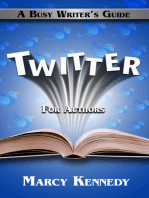 Twitter for Authors: A Busy Writer's Guide