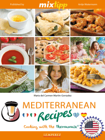 MIXtipp Mediterranean Recipes (american english): Cooking with the Thermomix TM5 und TM31