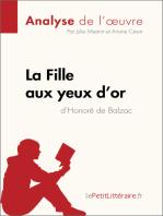 La Fille aux yeux d'or d'Honoré de Balzac (Analyse de l'œuvre)