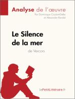 Le Silence de la mer de Vercors (Analyse de l'oeuvre)