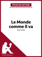Le Monde comme il va de Voltaire (Fiche de lecture)
