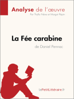 La Fée carabine de Daniel Pennac (Analyse de l'oeuvre)