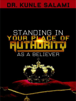 Standing In Your Place of Authority as a Believer