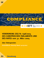 VERORDNUNG (EG) Nr. 648/2004 DES EUROPÄISCHEN PARLAMENTS UND DES RATES