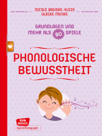 Phonologische Bewusstheit - Grundlagen und mehr als 80 Spiele - eBook