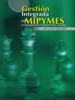 Gestión integrada en Mypimes: Fundamentos y estructura general