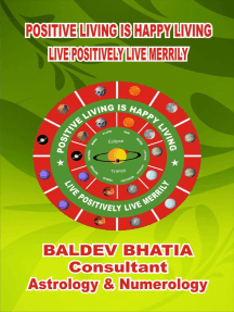 Positive Living is Happy Living