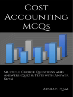 Cost Accounting MCQs: Multiple Choice Questions and Answers (Quiz & Tests with Answer Keys)