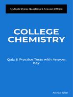 College Chemistry MCQs