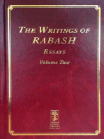The Writings of RABASH - Essays