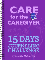 Care for the Caregiver 15 Day Journaling Challenge