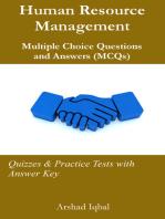Human Resource Management MCQs