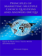 Marketing Principles MCQs
