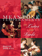 Meantone Temperaments on Lutes and Viols