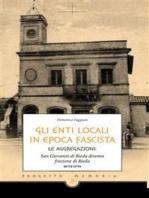 Gli enti locali in epoca fascista