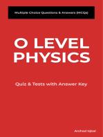 O Level Physics MCQs