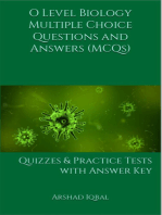 O Level Biology MCQs: Multiple Choice Questions and Answers (Quiz & Tests with Answer Keys)