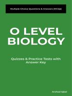 O Level Biology MCQs