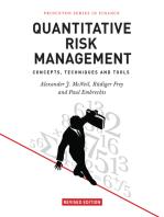 Quantitative Risk Management: Concepts, Techniques and Tools - Revised Edition