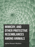 Mimicry, and Other Protective Resemblances Among Animals