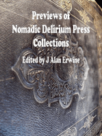 Previews of Nomadic Delirium Press Collections