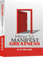How to manifest greatness