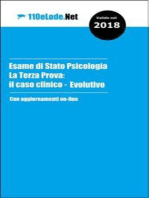 Esame di Stato Psicologia - La Terza Prova