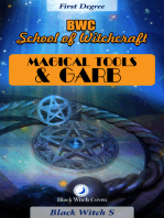 Magical Tools & Garb. First Degree