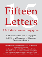 Fifteen Letters On Education In Singapore